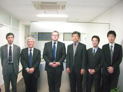 Dr. Graeme Moore (Patent Attorney),Mr. Philip Fujii (Asia Pacific Liaison)
